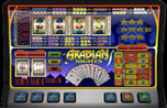 Arabian Nights fruitmachine